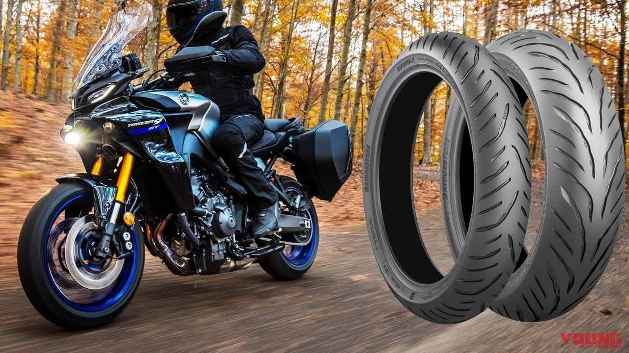 Шины Bridgestone выбраны для стандартного оснащения новых мотоциклов Yamaha Tracer 9