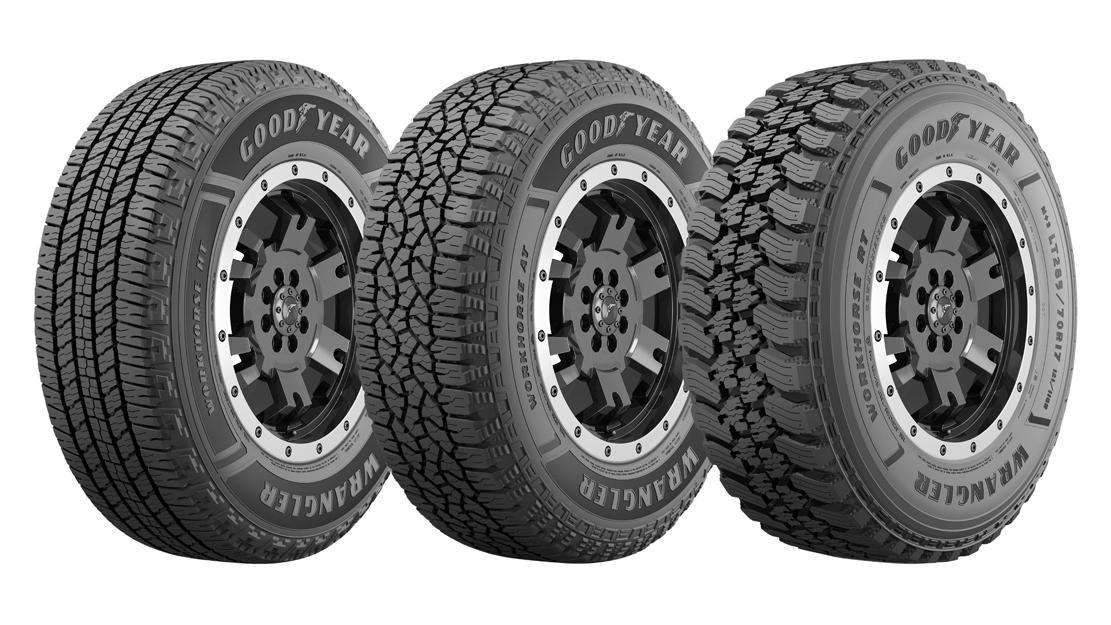 Goodyear анонсировала запуск новой линейки вседорожных шин Wrangler Workhorse