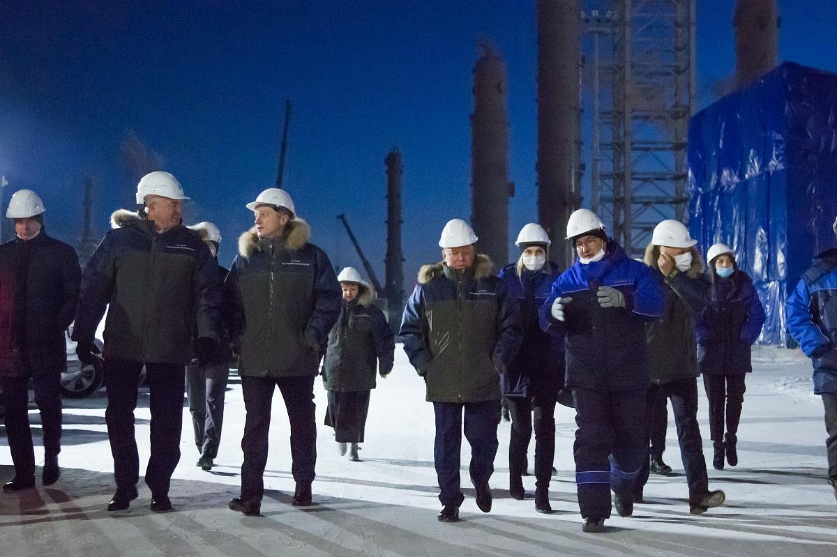 Глава Минпромторга РТ посетил «Нижнекамскнефтехим»