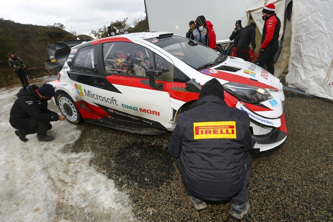 Во Французских Альпах прошли тесты раллийных шин Pirelli для WRC 2021