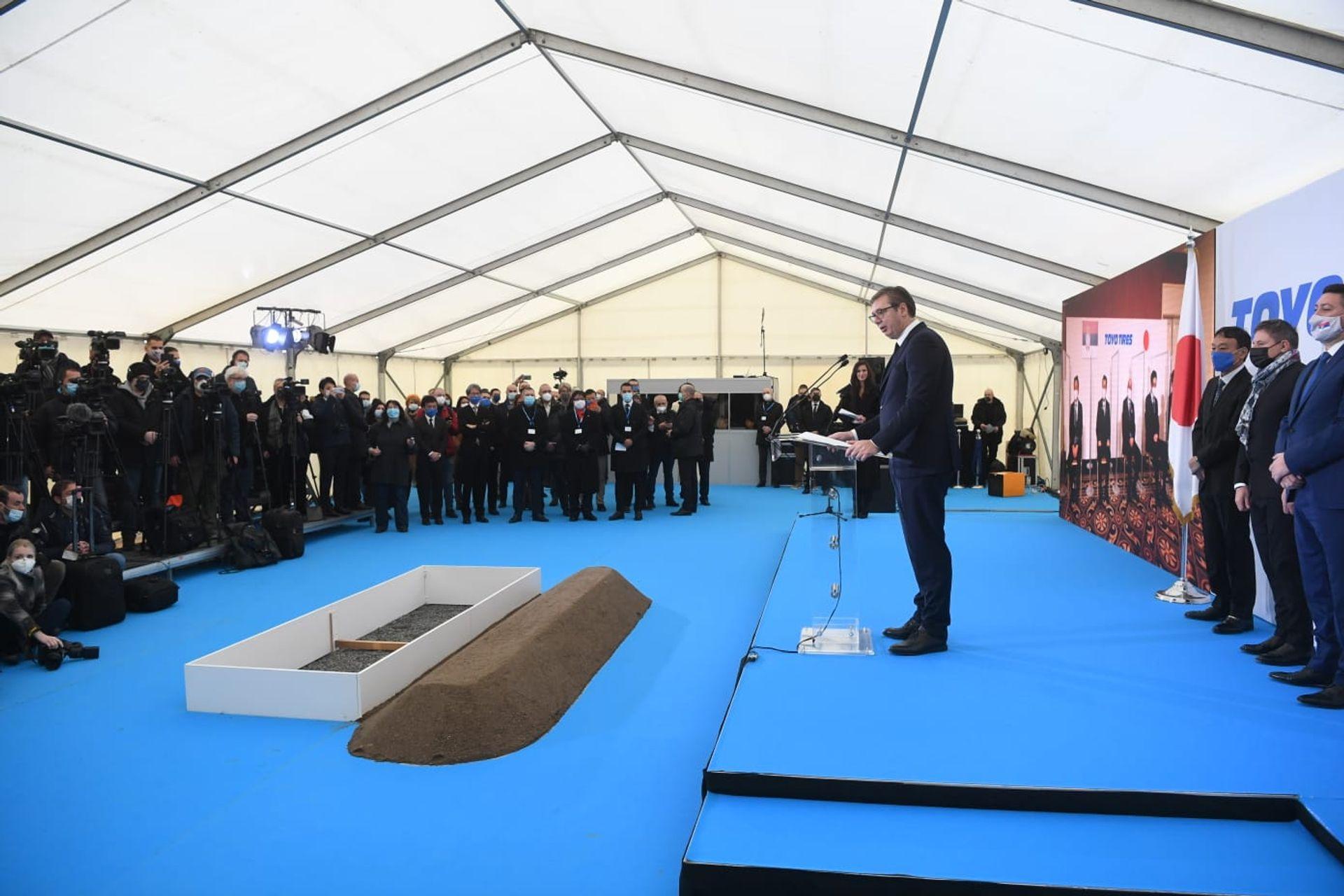 В Сербии началось строительство нового завода компании Toyo Tires