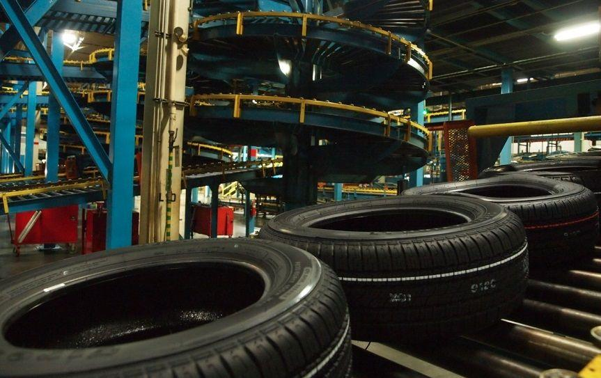 Производство шин в России снизилось более чем на 10 процентов