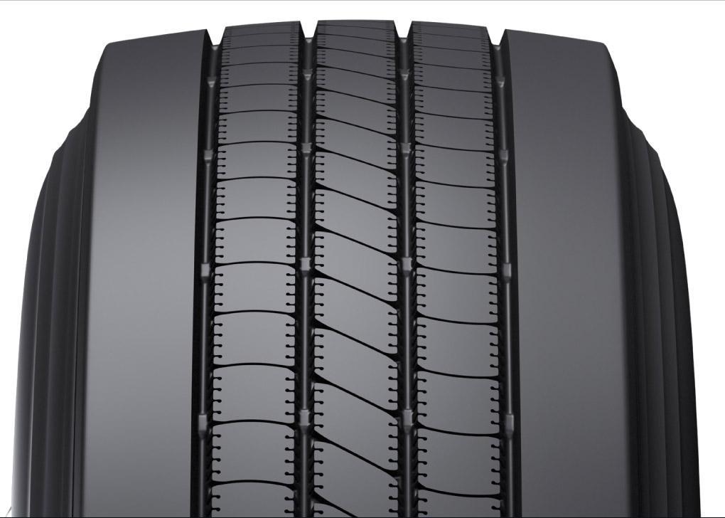 Bridgestone развивает модельный ряд протекторов Bandag FuelTech для восстановления TBR-шин