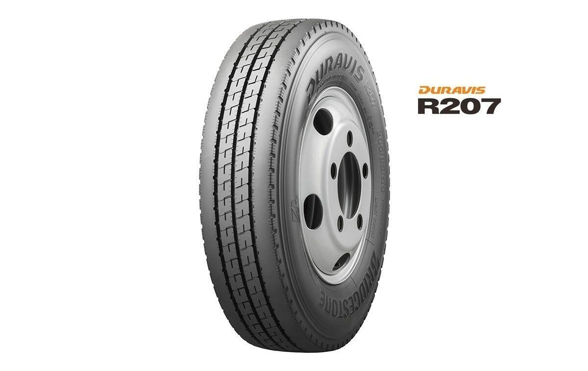 В марте 2021 года стартуют продажи новой коммерческой шины Bridgestone Duravis R207