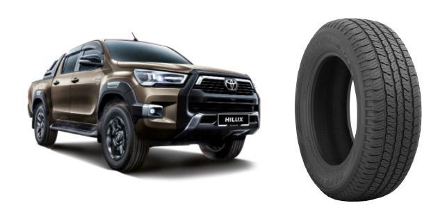 Пикапы Toyota Hilux малазийской сборки будут оснащать шинами Toyo