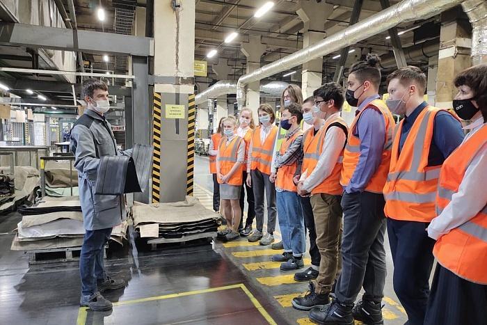 На заводе Пирелли в Кирове прошел «Урок цифры»