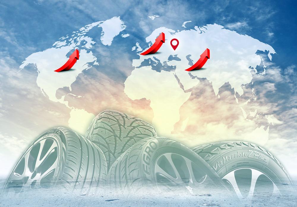«Росава» увеличила объемы продаж своих шин на 41 процент