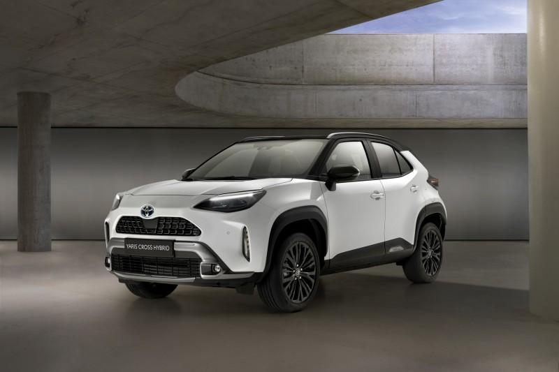 Новые Toyota Yaris Cross поедут по дорогам Европы на шинах Goodyear