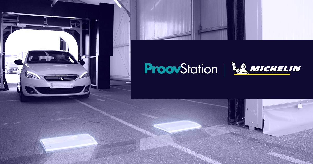 ProovStation и Мишлен объявили о партнерстве в сфере автоматизированного техосмотра автомобилей