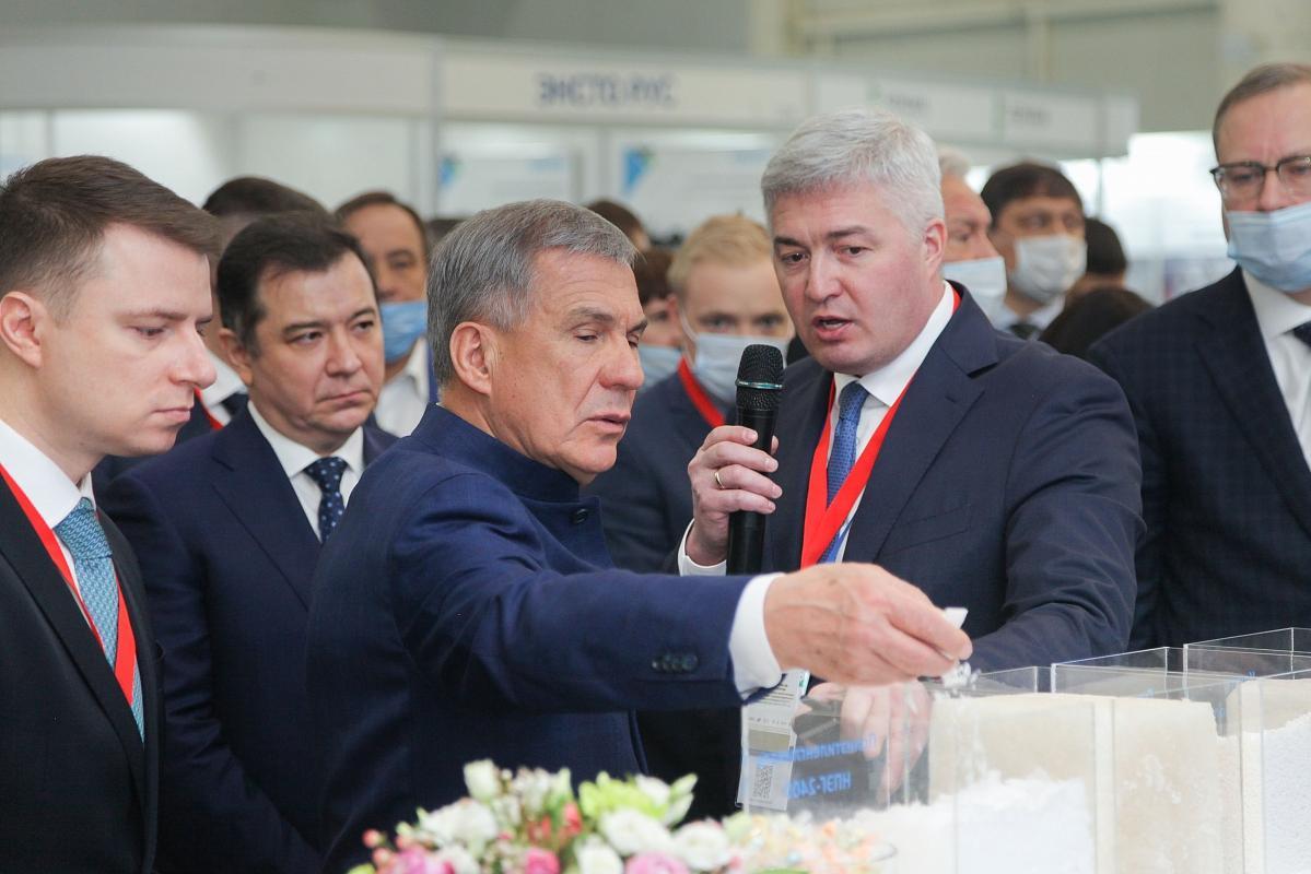 «Нижнекамскнефтехим» представил свои достижения на выставке «Энергетика. Ресурсосбережение»