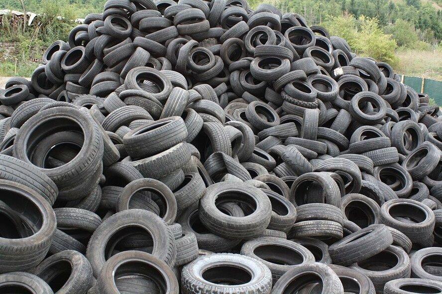 Кипрская Vassiliko Cement Works не справляется с переработкой утильных шин