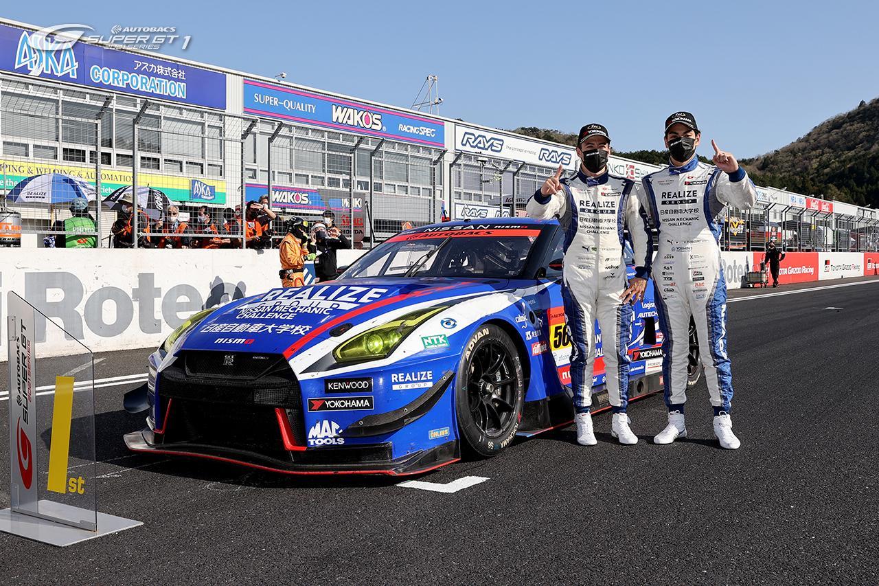 Автомобиль на шинах Yokohama ADVAN выиграл первую гонку серии Super GT 2021 года