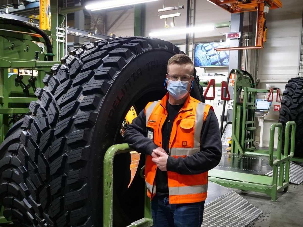 Nokian Heavy Tyres отмечена премией за безопасность