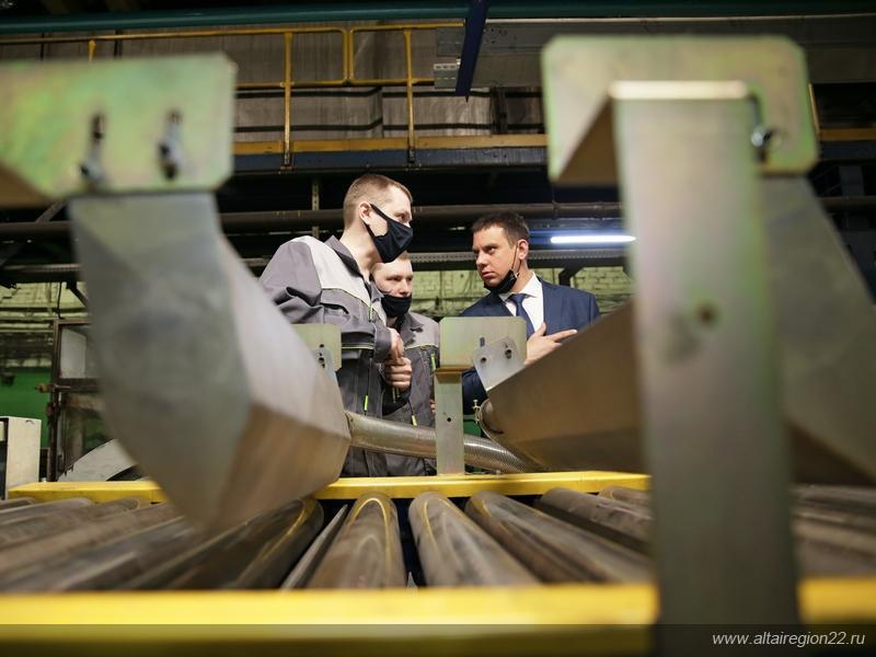 На шинном заводе «Нортек» запущена новая промышленная линия