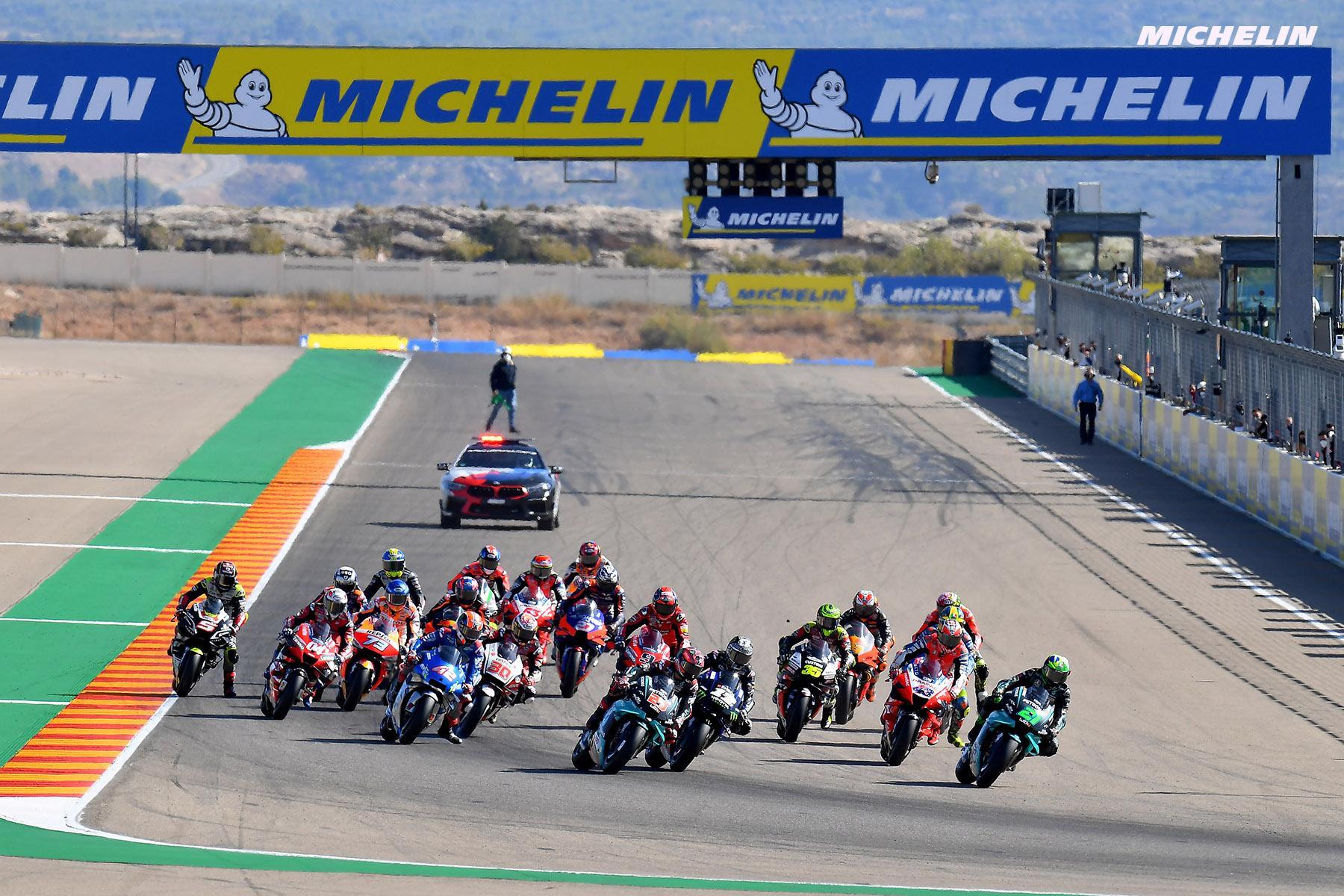 Michelin - титульный спонсор первого Grand Prix of Finland MotoGP