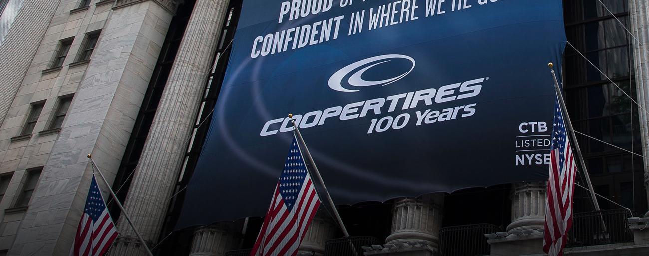 Cooper Tires наращивает объемы прибыли и продаж
