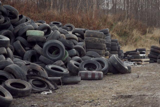 На Камчатке возобновят прием утильных шин за деньги