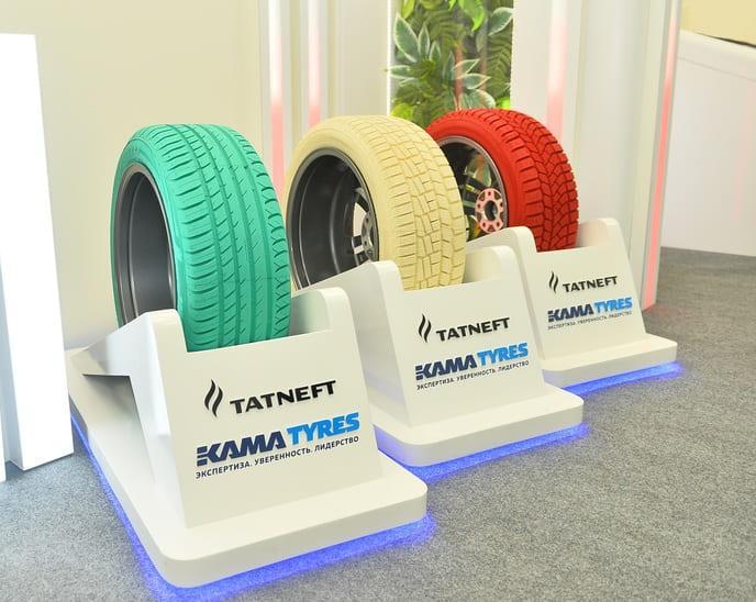 На выставке в Нижнекамске Kama Tyres представила уникальные грузовые и пассажирские шины
