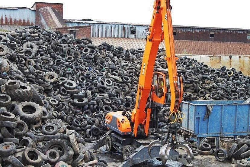 Компания «Орис Пром» планирует переработать в этом году 55 тысяч тонн утильных шин