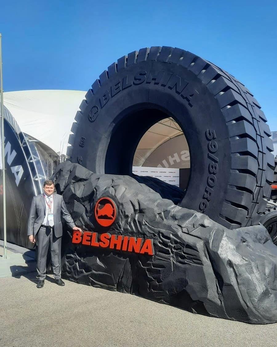 «Белшина» привезла свои СКГШ на выставку в Кузбасс