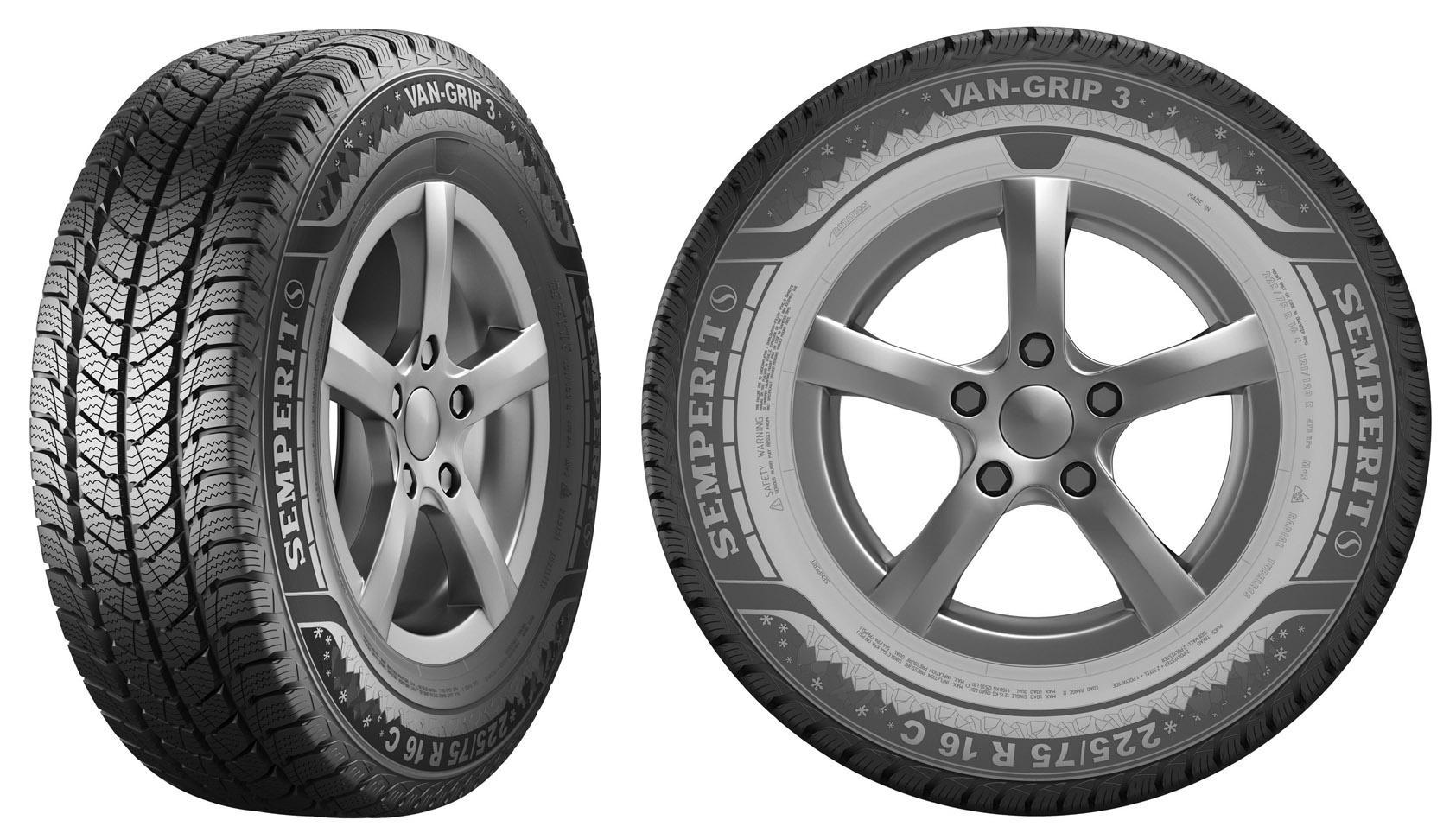 Компания Semperit пополнила свой ассортимент новой зимней шиной для автофургонов