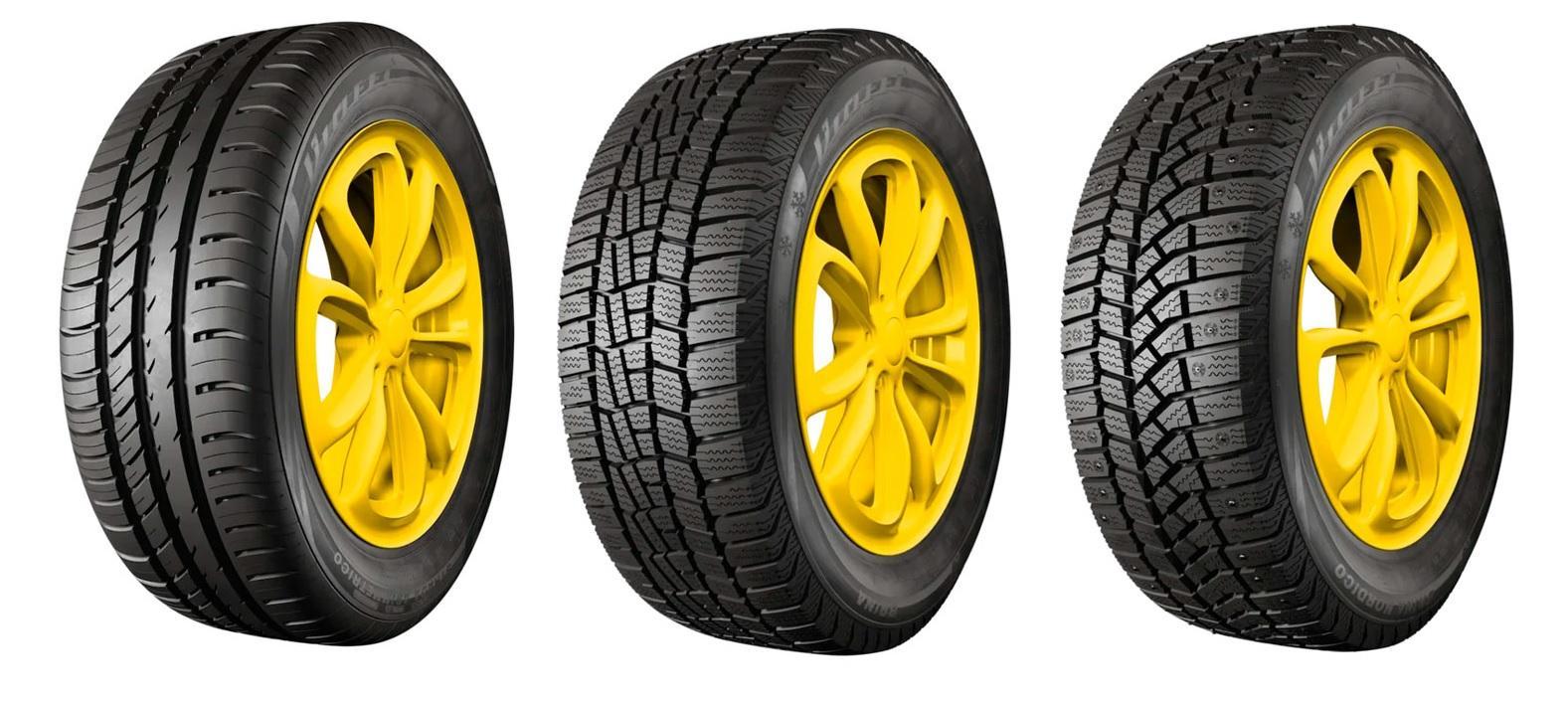 Шины Viatti в лидерах рейтинга лучших шин для Hyundai Solaris