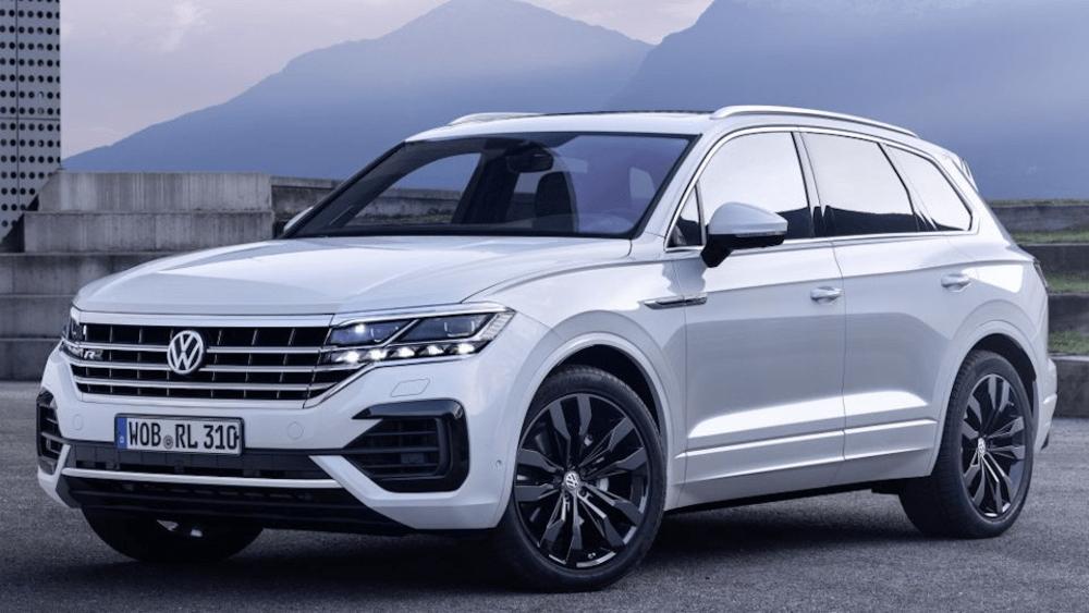 В России отзывают Volkswagen Touareg из-за сбоев в системе контроля давления в шинах