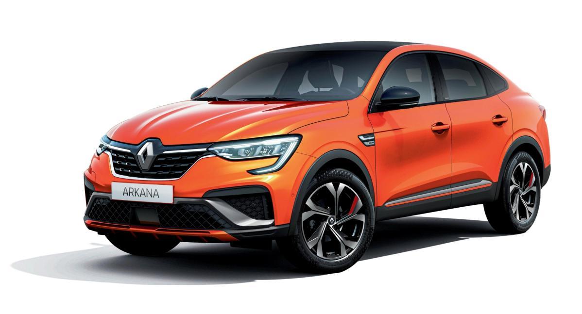 По дорогам Европы новые Renault Arkana поедут на шинах Kumho