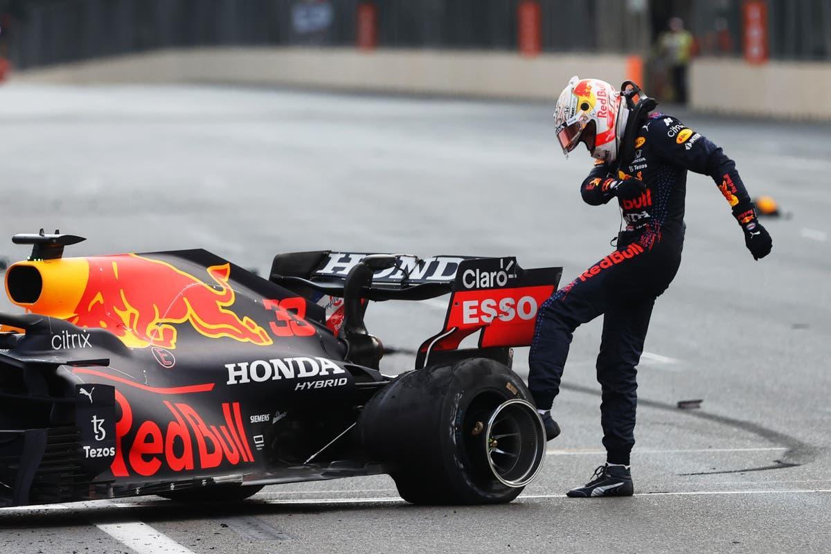 В Пирелли считают причиной повреждения шин на Гран-при Азербайджана внешние факторы