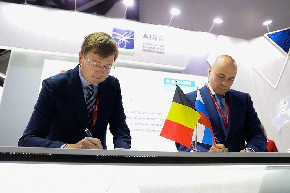 Bekaert инвестирует 1,7 миллиарда рублей в расширение производства бортовой проволоки в Липецке