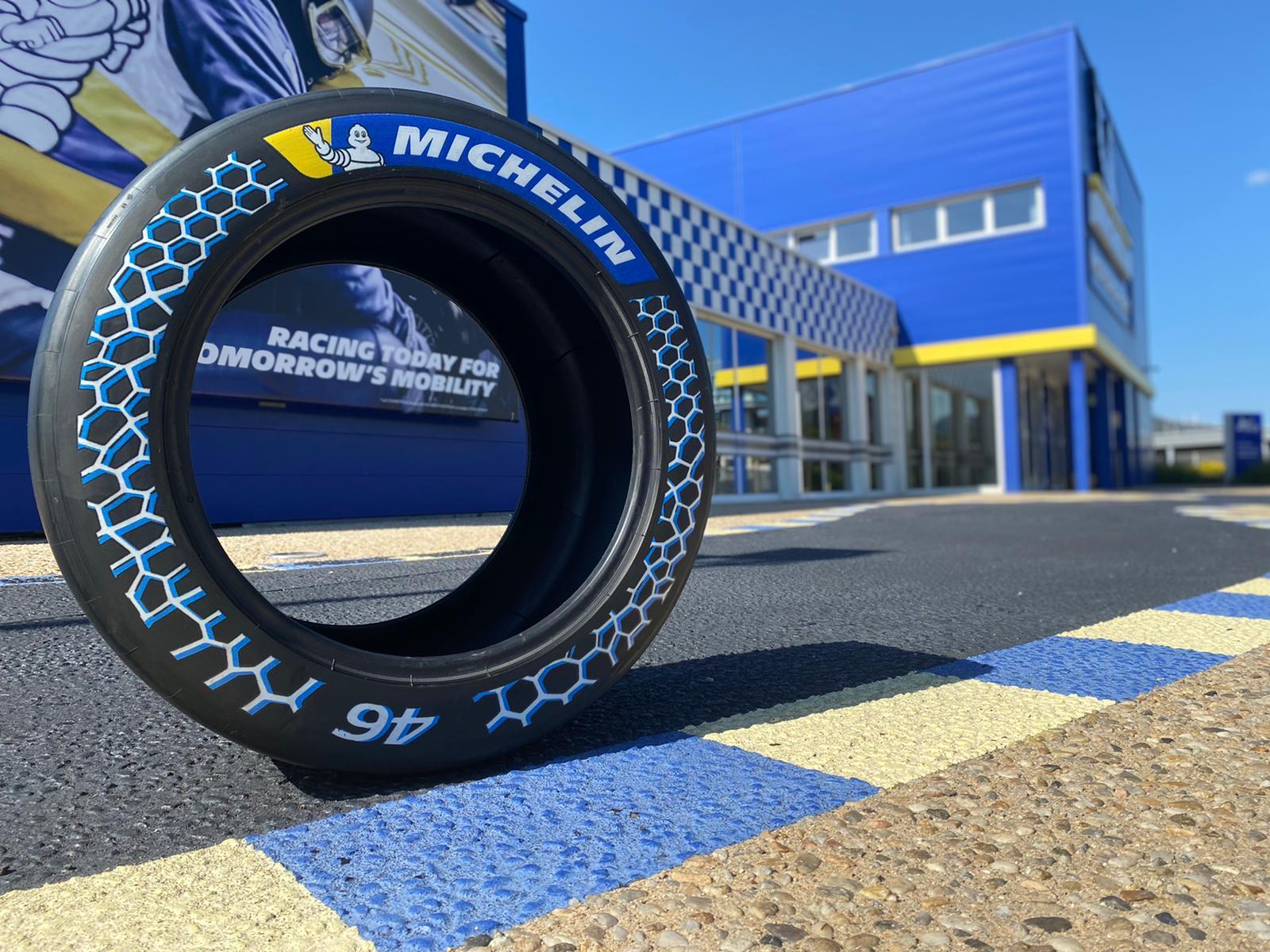 Водородный спортпрототип GreenGT Mission H24 поедет на инновационных гоночных экошинах Michelin