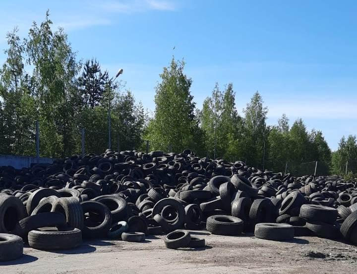 В столице Карелии решили проблему с утилизацией покрышек