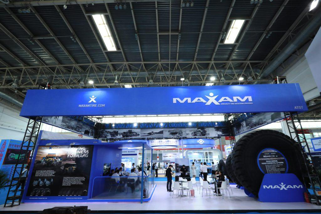 MAXAM Tire представила свои лучшие шины на выставке в Пекине