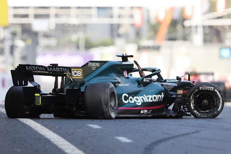 В Пирелли назвали причины взрывов шин в гонке Гран-при Азербайджана