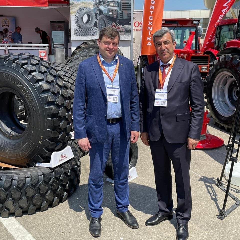 «Белшина» представила новые модели шин на выставке в столице Азербайджана