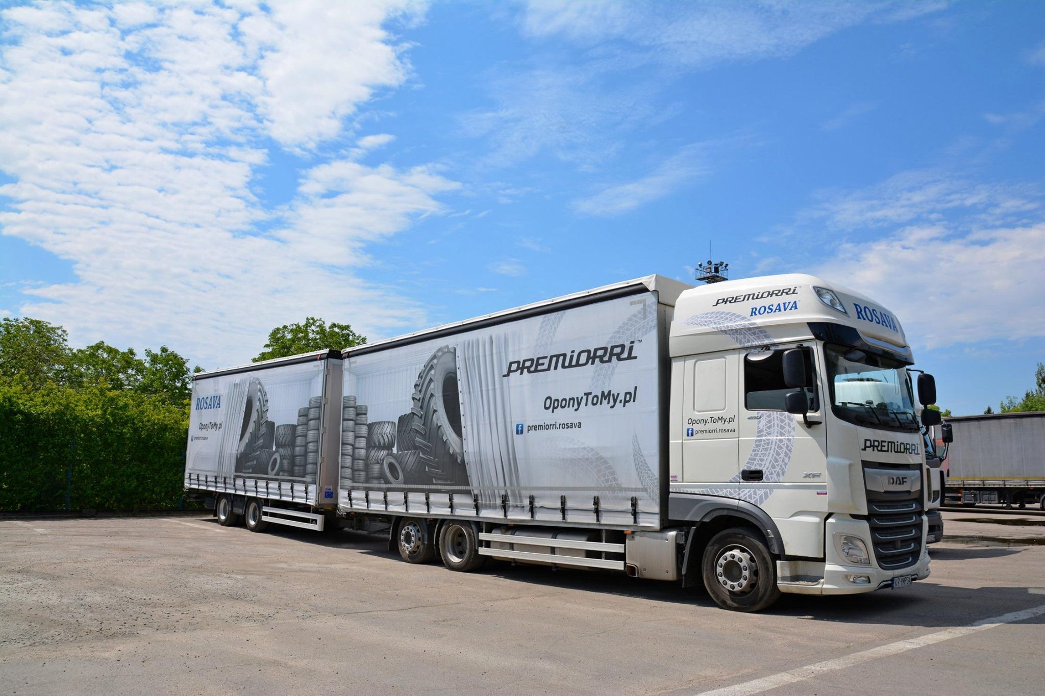«Росава» наращивает объемы поставок своих шин в страны Евросоюза