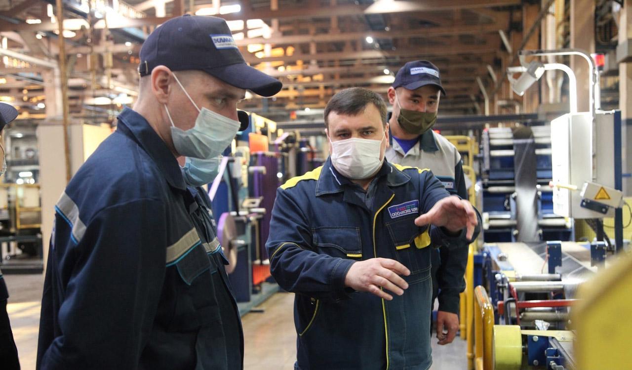 Казахстанские шинники проходят обучение на предприятиях Kama Tyres