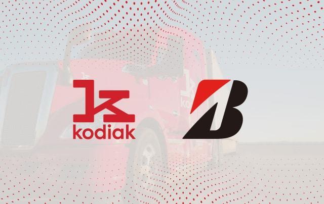 Bridgestone интегрирует свои технологии в автономные грузовики Kodiak