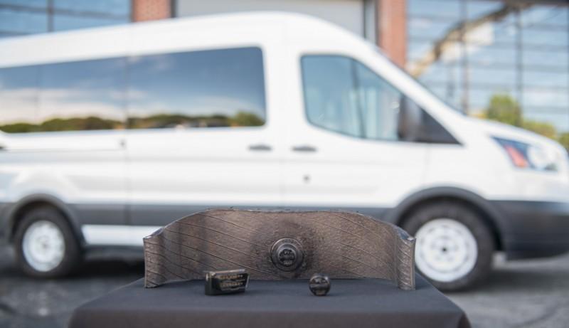 Goodyear представила свою первую систему контроля состояния шин грузовых автофургонов