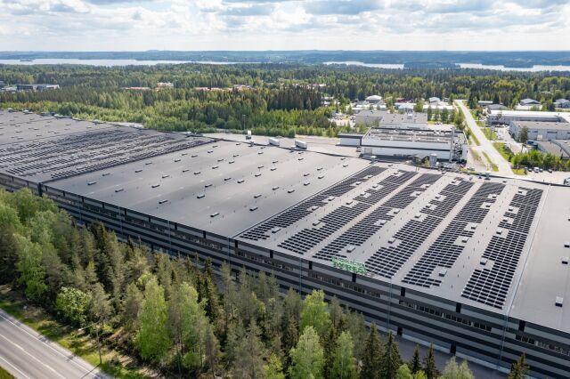 Nokian Tyres расширяет применение солнечной энергии на своих объектах по всему миру