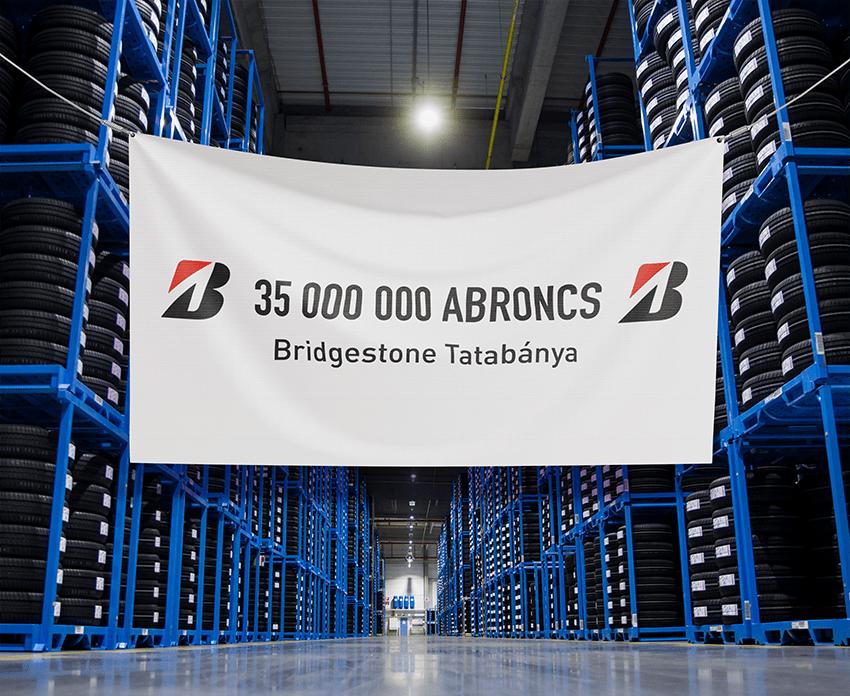 На заводе Bridgestone в Венгрии изготовили уже более 35 миллионов шин