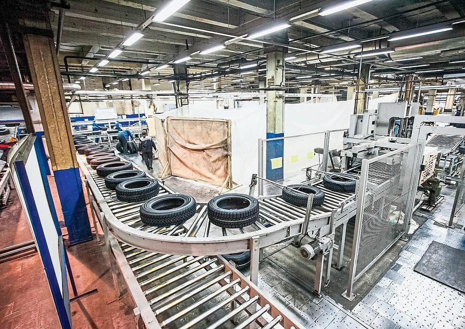 Росстат опубликовал данные о производстве шин за первые пять месяцев 2021 года