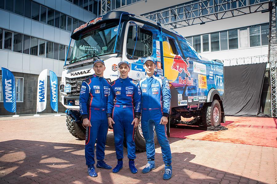 «КАМАЗ-мастер» выбрала для нового гоночного грузовика шины марки Goodyear