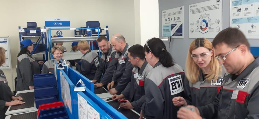 Волжские шинники прошли обучение по программе бережливого производства