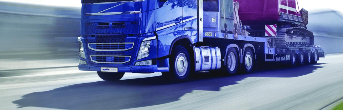 Apollo Tyres запускает в Европе новые региональные шины для прицепов
