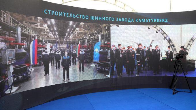 В Казахстане будет создан шинный комплекс полного цикла