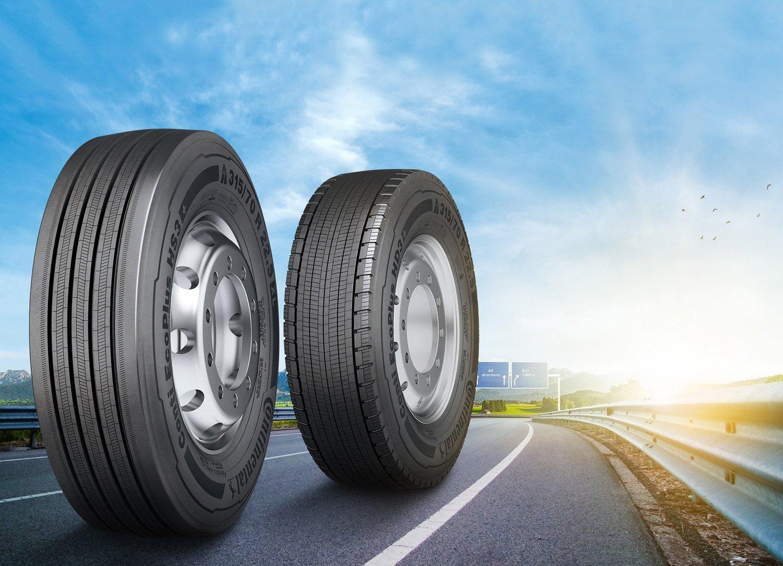 Continental обновляет линейку топливосберегающих грузовых шин Conti EcoPlus