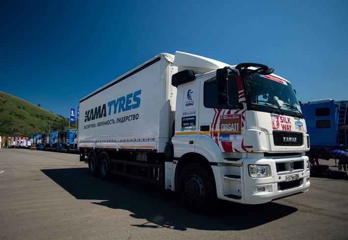Шинники Kama Tyres стали соавторами победы команды «КАМАЗ-мастер» в ралли Silk Way 2021