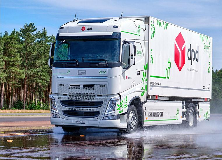 Continental тестирует прототипы шин для электрогрузовика Futuricum Logistics 18E