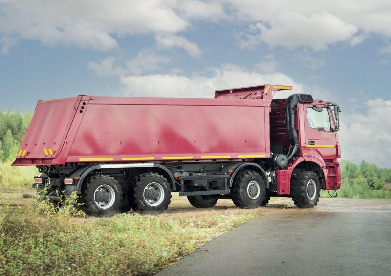 Multimax MP 569 - новое решение для сельскохозяйственных грузовиков от BKT Tires